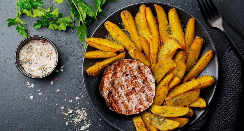 Ricetta hamburger al forno con patate