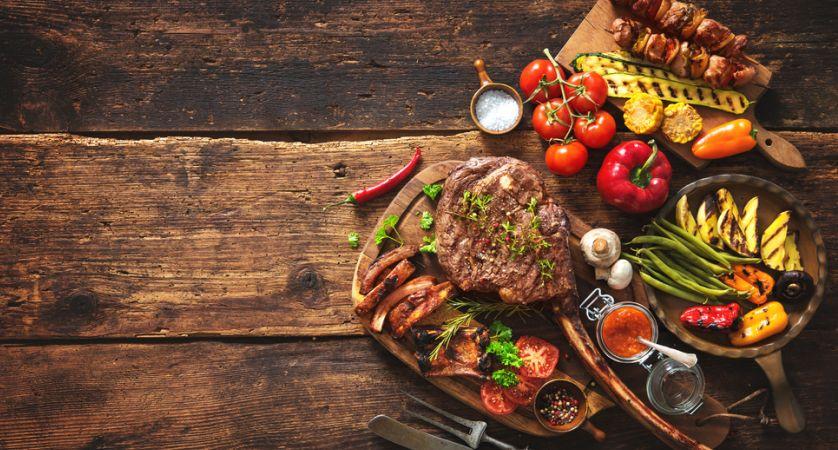 5 contorni per carne alla griglia