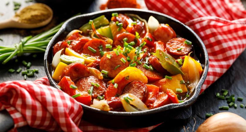 Ricetta salsiccia e peperoni