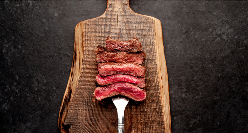 Qual è la temperatura della carne al sangue?