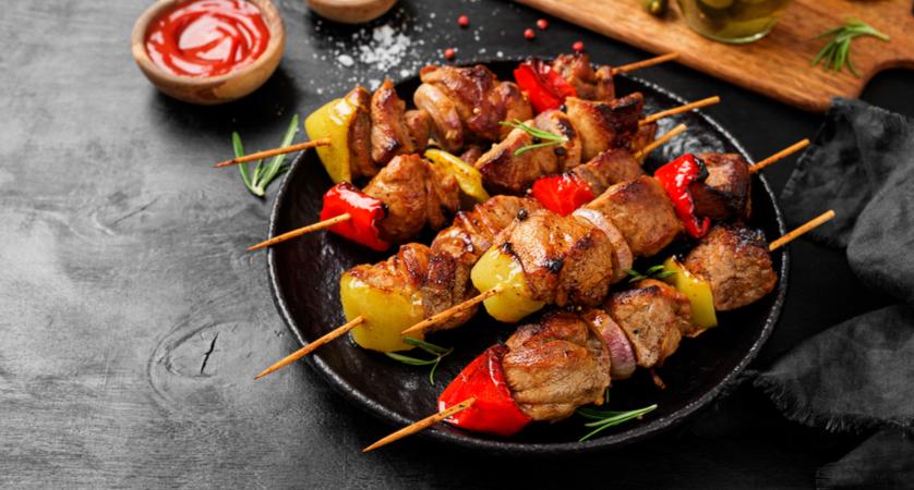 spiedino di carne calorie