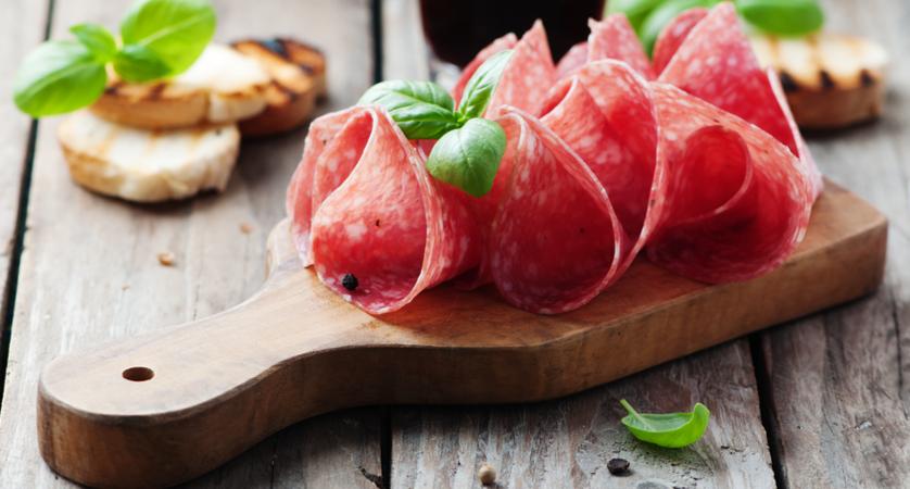 Quante calorie ha il salame?